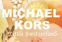 Michael Kors at Little Switzerland / Please call us at (877) 800-9998 Monday - Friday / 9:00AM - 5:00PM EST to order any Michael Kors products!