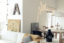 Home Decor / Home is where the heart is.