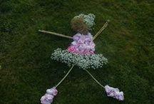 Hannah's flower ballerina / Environmental art project 2013