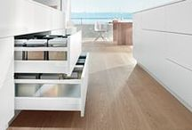 Blum through Daro / As Blum's London distributor for over 30 years we thought this board would help you see what Blum products are available and how they look in your kitchen/home.