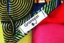 Productos artesanales marca Granujas / Granujas también cose. Aquí tienes una serie de productos hechos con nuestras manos con mucho amor