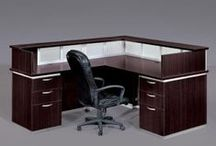 Reception Area / These are some nice reception office spaces that can fit almost any needs for your office.