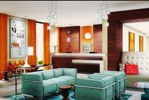 Designer Lobby Area