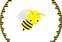 bijen (kleur- en werkbladen)