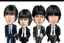 'BEATLES' / The Beatles: John Lennon, Sir Paul McCartney, Ringo Starr & George Harrison. / by Dunway Enterprises