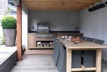 Kuchyňa vonku
