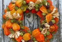 podzimní dekorace - tvoření s rodiči