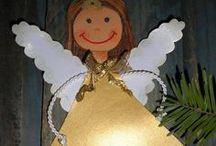 Mikuláš, čert, anděl
