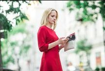 STREET STYLE / POWER DRESS RED