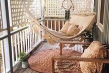 bydlení - balkon, terasa