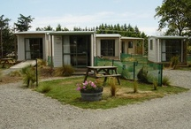 Our Cabins / Our standard cabins have comfortable queen-size beds, electric blankets and heater. Kettle and crockery are provided. Guests share the communal holiday park kitchen and bathroom amenities.