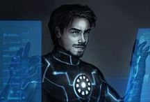 Marvel Fanart / Marvel fanart with a focus on Avengers fanart with a focus on Steve Rogers/Tony Stark slash relationship.