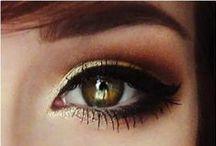 "》MAKEUP《 / ""Inner beauty is great but a little mascara never hurts"" / by Raissa Baggins"