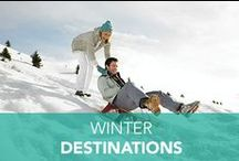 Winter Destinations / Hit the slopes, build a snowman, or enjoy some hot cocoa on your next winter vacation with Embassy Suites.