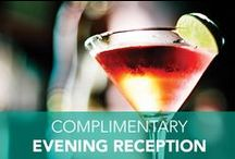 Complimentary Drinks / Cheers to having a couple on the house: enjoy complimentary beverages & snacks at our nightly Evening Reception, every night you stay!