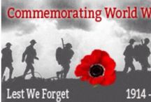 """Remember WW1 / Let us not forget all who fight in the  """"War to End all Wars"""" / by Peter Rabbit"""