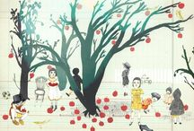 Illustration ★ Trees / by Mette Nørtoft