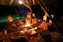 Fire Pit (костровище) / на даче