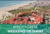 #PrettyGreat Weekend Getaway / Want to win your dream weekend getaway? Here's your chance! Build your dream weekend getaway board on Pinterest, then enter the URL here http://bit.ly/ES_Contest for a chance to win a weekend stay at an Embassy Suites of your choice. Yeah, it's #PrettyGreat.