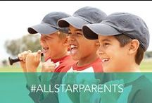All-Star Parents / Do YOU know an All-Star Parent? When you nominate a deserving mom or dad, you and the nominee have a chance to win some #PrettyGreat weekly prizes! But that's not all - if your nominee is selected as our grand prize winner, he or she will receive a trip for two as well as free Embassy Suites stays for the entire team they cheer for! Yeah, it's #PrettyGreat. http://bit.ly/AllStarParents