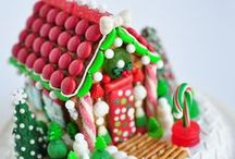 Gingerbread House with LOTS of CANDY