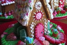 Gingerbread House Valentine's Day Inspirations / They're not all gingerbread, but they're all inspiring!