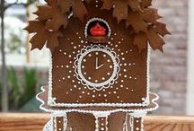 Gingerbread House Cuckoo Clock Inspiration / These aren't all gingerbread, but they're all inspiring!