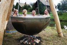 Hot tub (баня на улице)