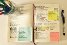 Bullet journal and journaling / Bullet journal layouts, inspiration, journal pages and decoration