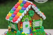 Gingerbread House St. Patrick's Day / gingerbread, gingerbread house, cookie house