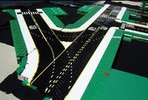 LEGO Roads by Mike Gallagher from GallaghersArt.com