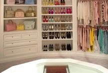 Dream Closet /  Ladies, where do we even begin? A dream closet is always at the top of our wish list. You would understand if you've seen Oprah's huge walk-in. It's the ultimate in luxury organization—a personal boutique in her own home. But we have our own ideas for that ultimate closet and it definitely includes a whole lotta shoes and handbags.