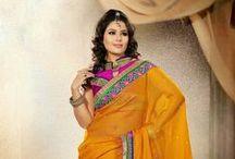 Indian Ethnic Wear - JabongWorld / Indian #Ethnic Wears such as #Sarees, Lehengas, Kurtis, Anarkali Suits, Paizama, Salwar Kameez, Suit Sets, #Bridal Wear, Punjabi Suits and more only at www.jabongworld.com