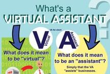 Virtual Assistant Tips / Learn how to work with a Virtual Assistant to help you manage your business more efficiently. Find more time in your day for family, fun and relaxation.