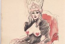 The Art of Dr. Sketchy's