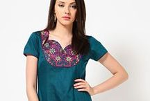 Indian Kurtis Online - JabongWorld / A perfect combination of style and fashion is essential to look spectacular. If you want to get special attention from the spectators you must go with our unbeatable collection of kurtis online. Buy Indian kurtis from our online store and set all eyes on yourself by flaunting the impressive varieties of cotton kurtis and biba kurtis.  #kurta #kurti #indiankurti #WomenKurtis   Our Collection: http://www.jabongworld.com/women/kurtis.html