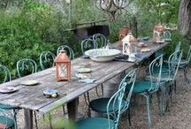 Outdoor Entertaining / Inspirations for elegant outdoor entertaining from the heart of Napa Valley.