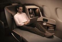 Airlines, seating and travel concepts
