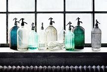 My beloved Siphon Selzer Bottles & other beautiful Glassware