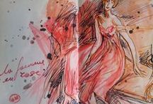 BOLDI'NI' A PARIS / mon petit journal de Boldini -un pittore dell'800 molto spigliato .. soprannominato lo spadaccino della pittura  ....vere e propie sciabolate di colore........