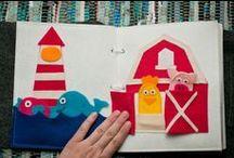 Sewing Quiet Books - Free Patterns & Tutorials / Sewing - DIY - patterns and ideas to sew quiet books