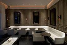 Restaurant and bar interiors