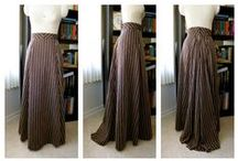 Sewing for Woman: Skirts + Aprons / DIY - Sewing