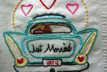Wedding - Ideas DIY / DIY - Sewing - Stitching - Knitting - Wedding