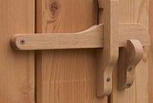 Trä / trä, trähantverk, wood, puutöitä