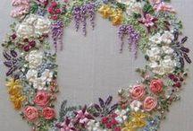 Broderi o korstygn / Broderi, korstygn, embroidery, ristipisto, kirjonta