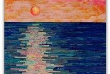 Konst (igheter) i textil / konst quilt, art quilt