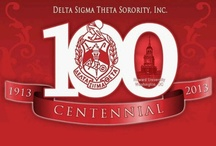 Delta Sigma Theta Sorority Inc. / by PurplePearBerry