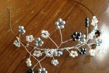 My jewels / A collection of my handmade jewellery.  All available from: www.etsy.com/shop/HatsandGems