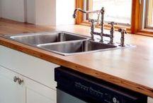 Custom Wood Countertops / Custom wood counter tops